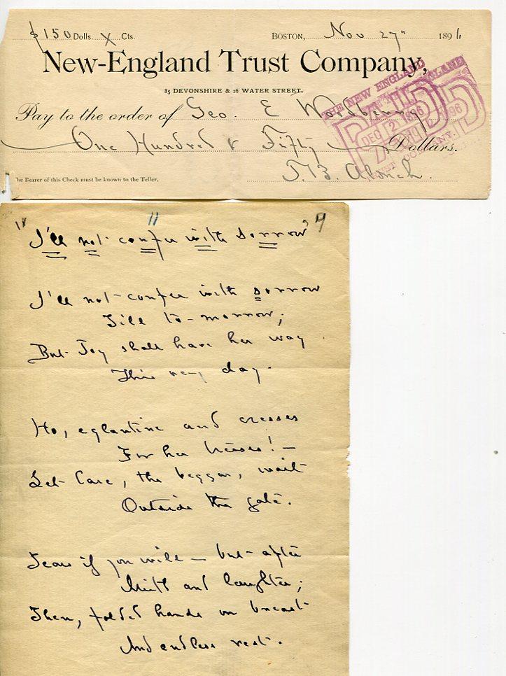Aldrich1896Check &AMs